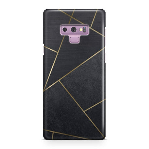 Black Tiles Samsung Galaxy Note 9 Case