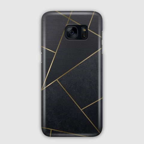 Black Tiles Samsung Galaxy S7 Case