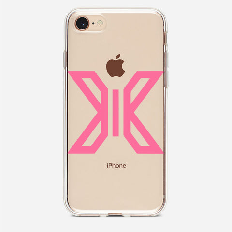 X1 Pink Logo iPhone 8 Case