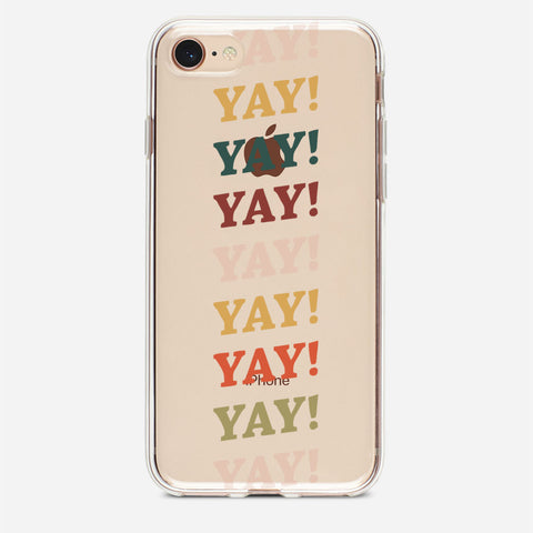 Yay! Pattern iPhone 8 Case