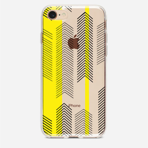 Yellow Arrow iPhone 8 Case