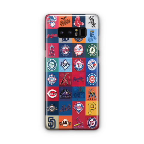 Logos All Baseball Samsung Galaxy Note 8 Case