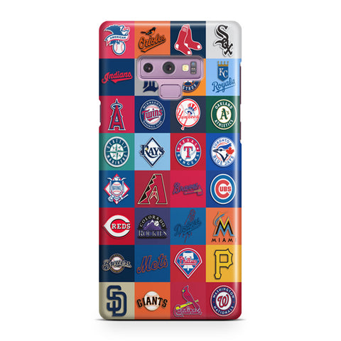 Logos All Baseball Samsung Galaxy Note 9 Case