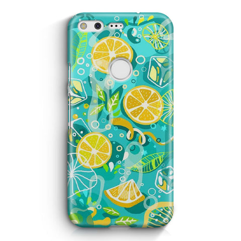 Lemonade Ice Summer Vibe Google Pixel Case