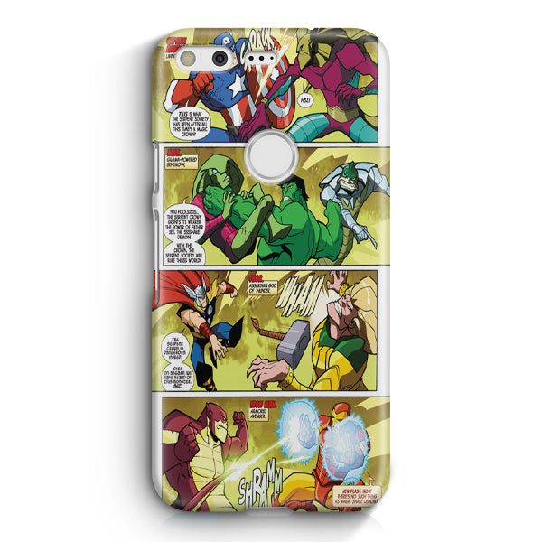 Marvel Comics Digest Google Pixel 2 XL Case