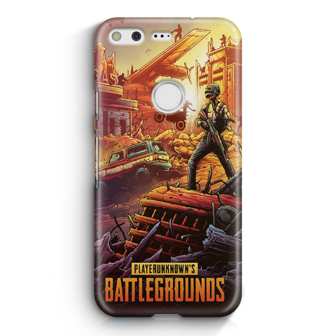 Player Unknown's Battlegrounds Google Pixel 3 XL Case