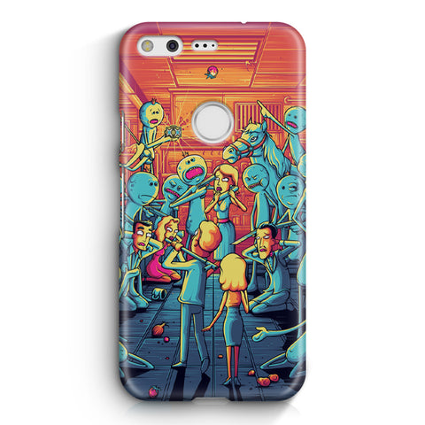 Rick & Morty Google Pixel XL Case