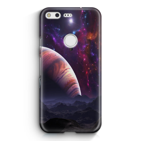 Space Planets Art Colorful Google Pixel XL Case