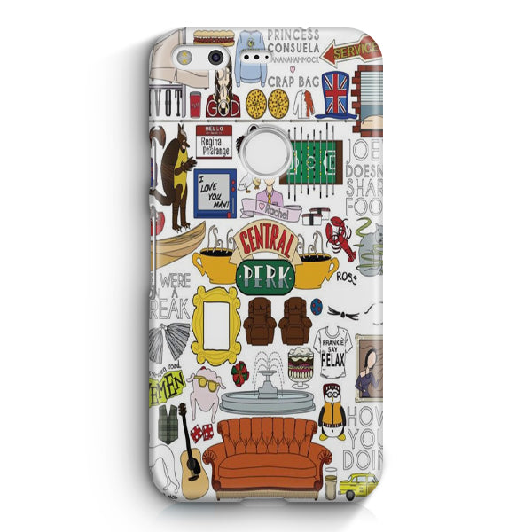 Friends TV Show Google Pixel 2 XL Case