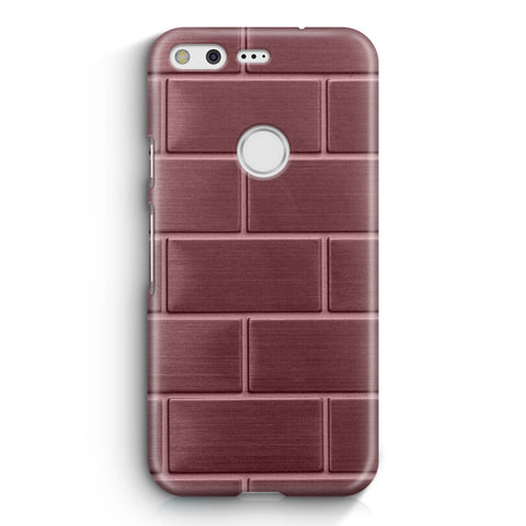 Rose Gold Bricks Google Pixel 2 XL Case