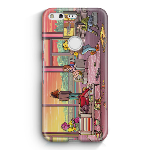 Bojack Horseman Party Google Pixel 3 XL Case