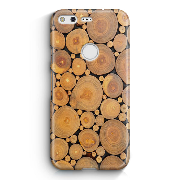 Edible Wood Google Pixel XL Case