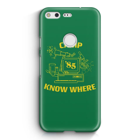 Camp Know Where Google Pixel 3 XL Case