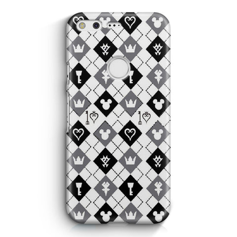 Kingdom Hearts Pattern Google Pixel XL Case