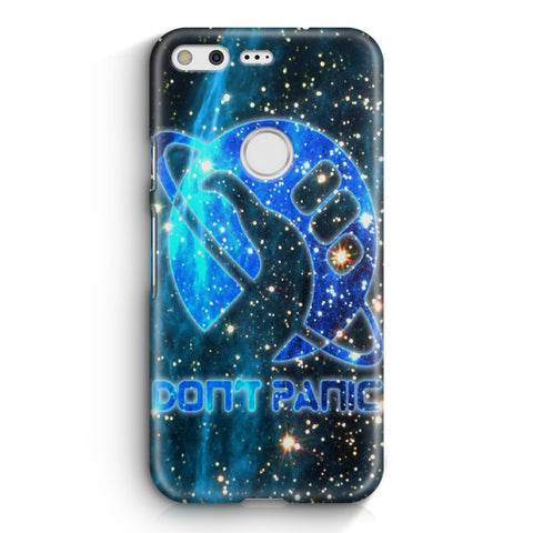 Hitchhiker's Guide To The Galaxy Dont Panic Google Pixel XL Case