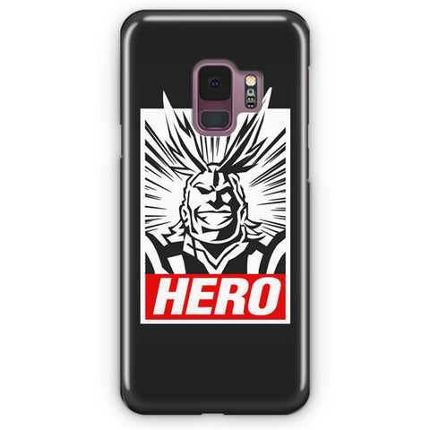 My Hero Academia All Might Samsung Galaxy S9 Case