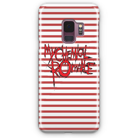My Chemical Romance Logo Striped Samsung Galaxy S9 Case
