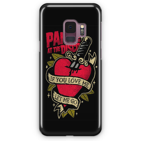 Panic! At The Disco Tattoo Heart Samsung Galaxy S9 Case