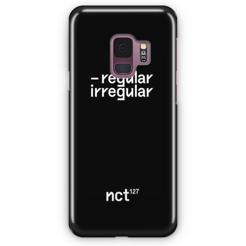 NCT 127 Regular-Irregular Samsung Galaxy S9 Case