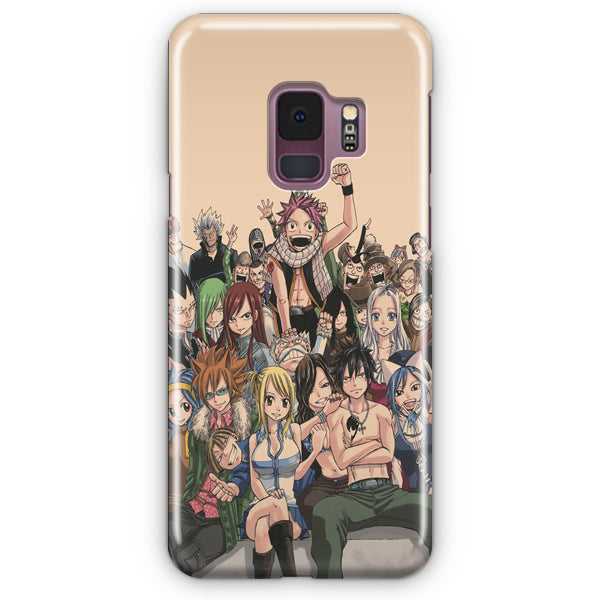 Fairy Tail Characers Samsung Galaxy S9 Case
