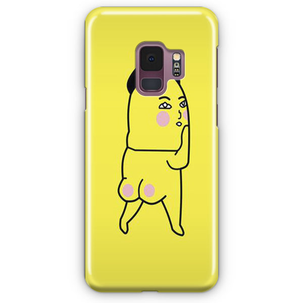 Pink Fart Fart Yellow Samsung Galaxy S9 Case