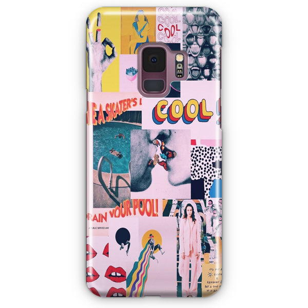 Collage Samsung Galaxy S9 Case