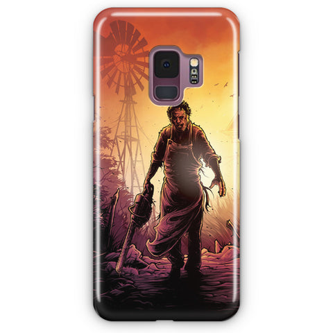 The Texas Chainsaw Samsung Galaxy S9 Case