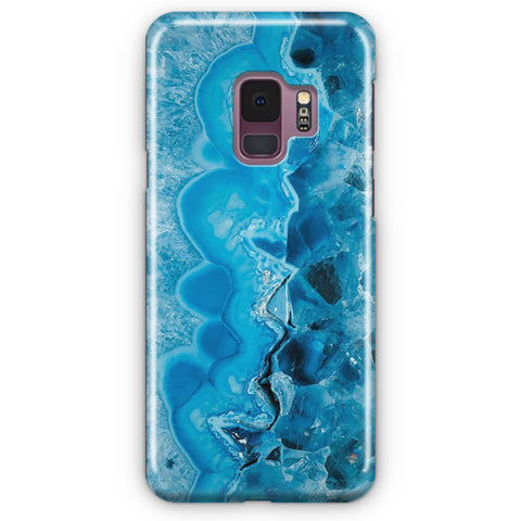 Blue Crystal Quartz Samsung Galaxy S9 Case