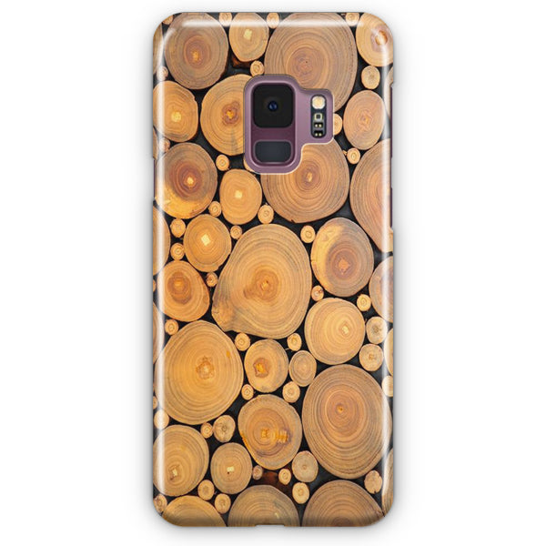 Edible Wood Samsung Galaxy S9 Case