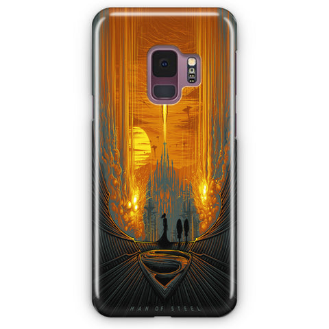 Man of Steel Samsung Galaxy S9 Case