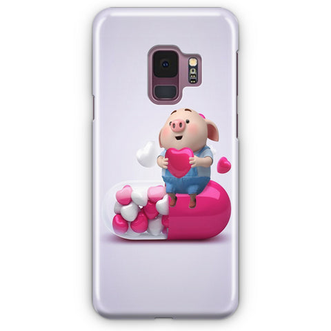 Cute Pig Samsung Galaxy S9 Case