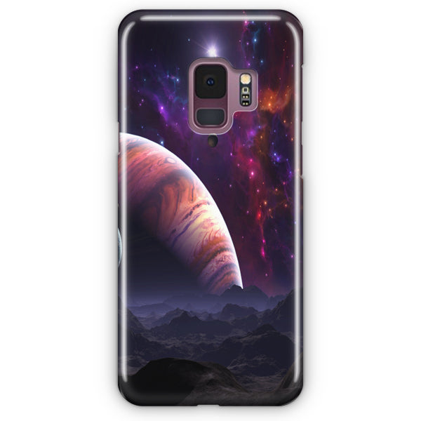 Space Planets Art Colorful Samsung Galaxy S9 Case