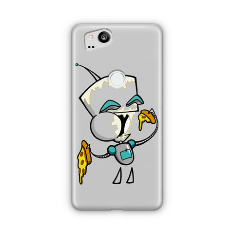 Gir Eating Pizza Google Pixel 2 Case
