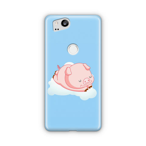Sleeping Piggy Google Pixel 2 Case