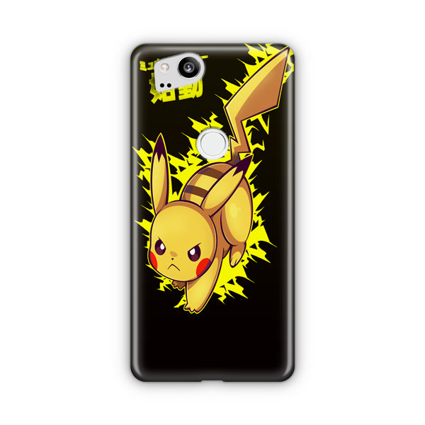 Pokemon Pikachu Metal Wash Google Pixel Case