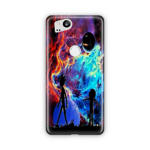 Rick and Morty Flat Google Pixel Case