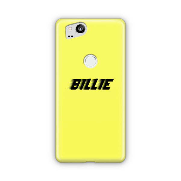 Billie Eilish Racing Logo Google Pixel Case
