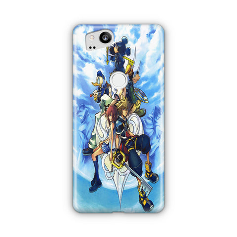 Disney Kingdom Hearts Cloud Google Pixel 3 Case