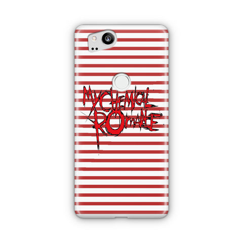 My Chemical Romance Logo Striped Google Pixel Case
