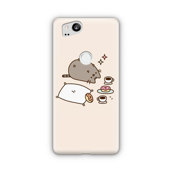 Pusheen Cat & Food Google Pixel Case