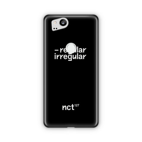 NCT 127 Regular-Irregular Google Pixel Case
