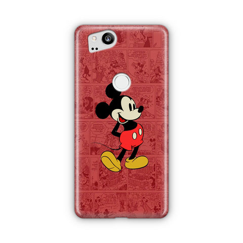 Mickey Mouse Black Google Pixel Case