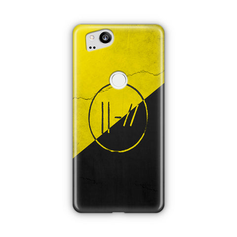 Twenty One Pilots Yellow Double Lines Google Pixel Case