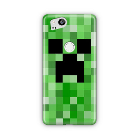 Minecraft Creeper Google Pixel Case