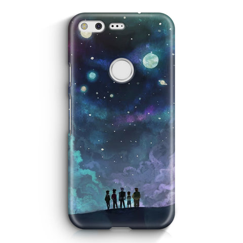 Voltron in Space Nebula Google Pixel XL Case