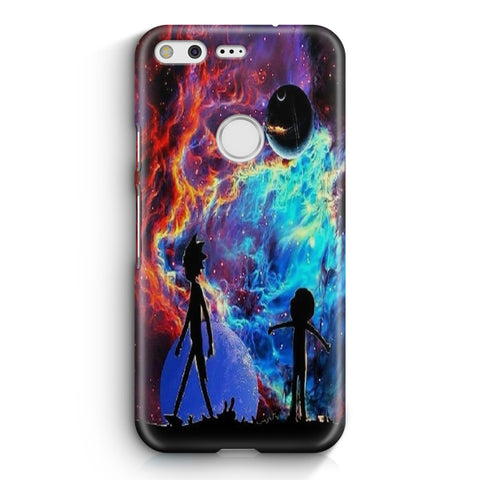 Rick and Morty Flat Google Pixel XL Case