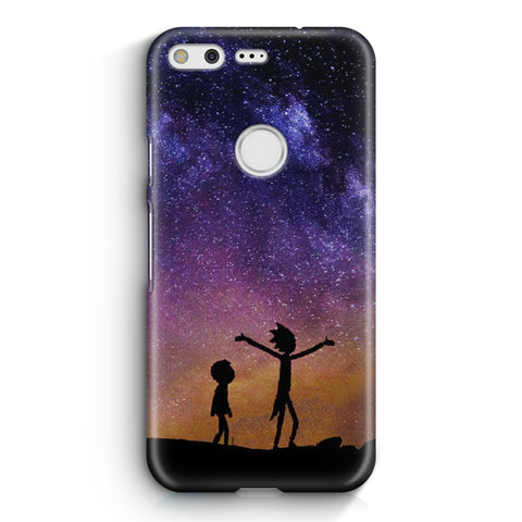 Rick and Morty Space Nebula Google Pixel XL Case