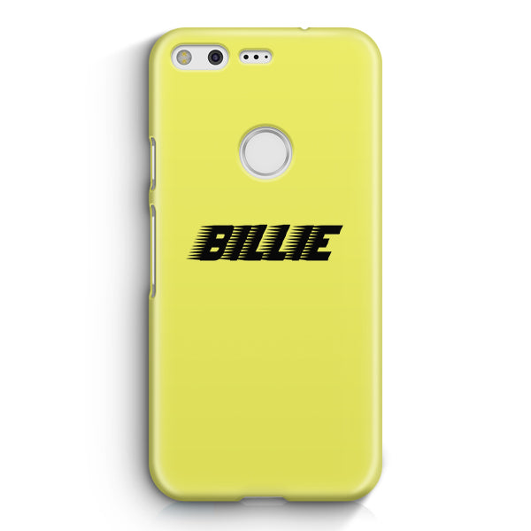 Billie Eilish Racing Logo Google Pixel XL Case