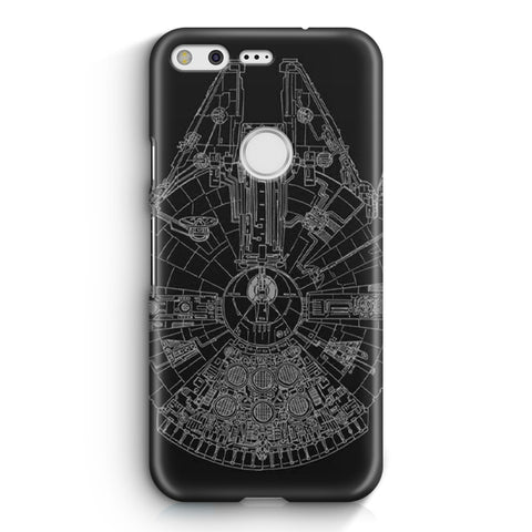Star Wars Millenium Falcon Google Pixel XL Case