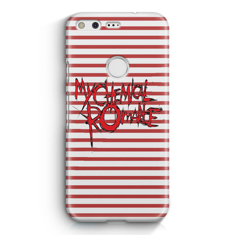 My Chemical Romance Logo Striped Google Pixel 3 XL Case